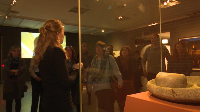 In der Mittagspause ins Museum (Foto: SAT.1 NRW)