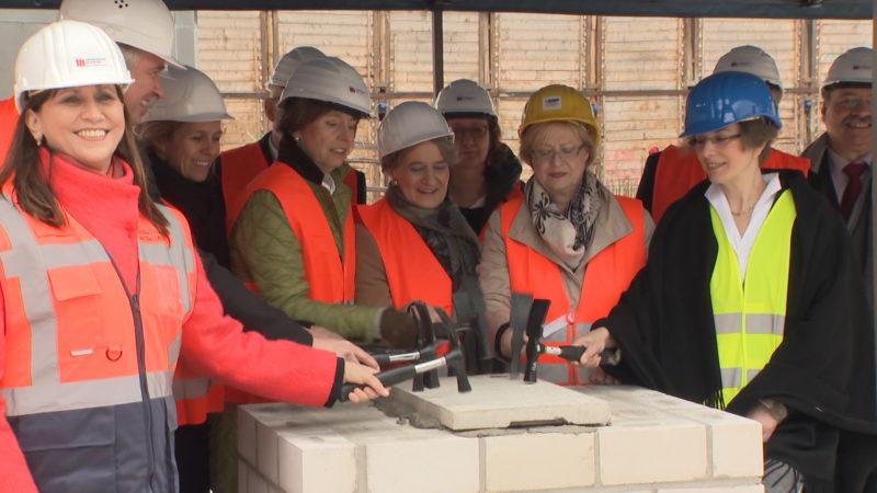 Grundstein für neues Stadtarchiv (Foto: SAT.1 NRW)