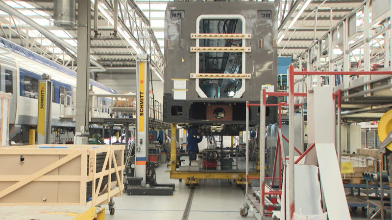 Besuch RRX-Produktion in Krefeld (Foto: SAT.1 NRW)