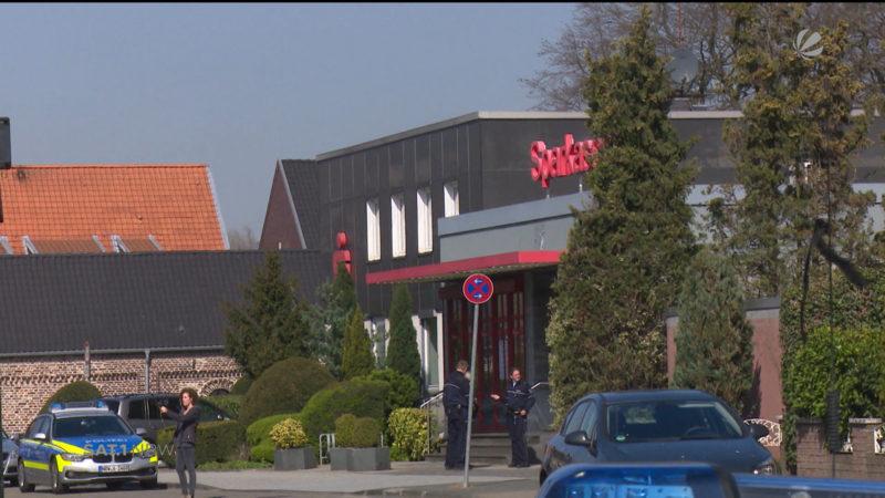 Banküberfall in Duisburg (Foto: SAT.1 NRW)