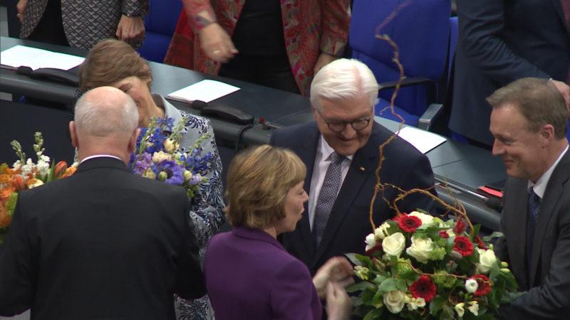 Vereidigung von Frank-Walter Steinmeier (Foto: SAT.1 NRW)