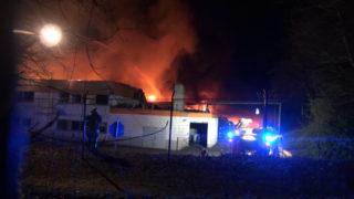 Großbrand in Witten (Foto: SAT.1 NRW)