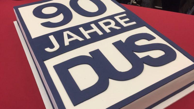Düsseldorfer Flughafen feiert 90.Geburtstag (Foto: SAT.1 NRW)
