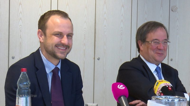 Peter Neumann verstärkt CDU-Team (Foto: SAT.1 NRW)