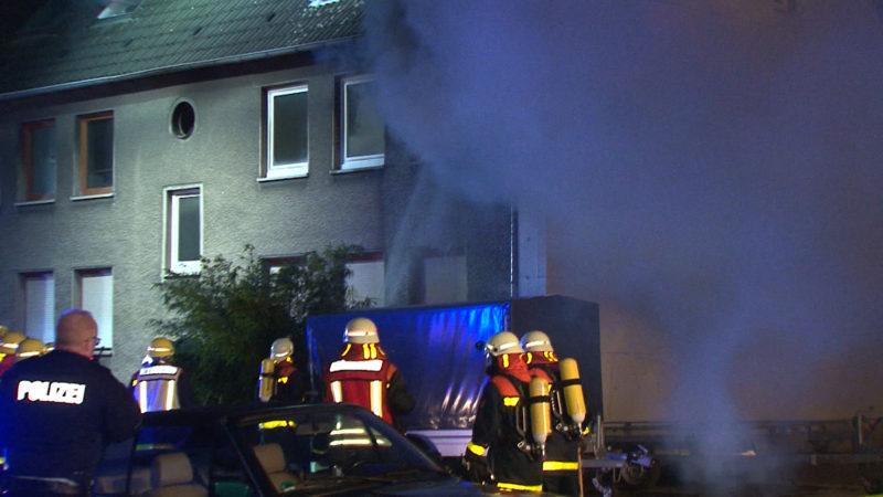 Rentner stirbt bei Wohnungsbrand (Foto: SAT.1 NRW)
