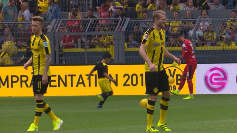 Marco Reus gegen Monaco vielleicht dabei (Foto: SAT.1 NRW)