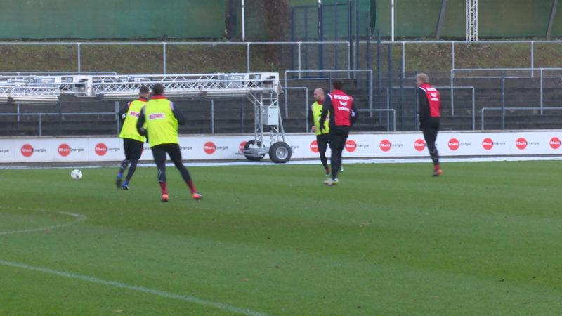 Pressekonferenz 1. FC Köln vor Derby (Foto: SAT.1 NRW)