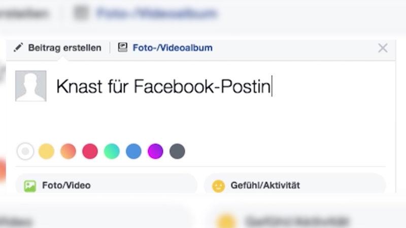 Wegen Facebook-Posting festgenommen (Foto: SAT.1 NRW)