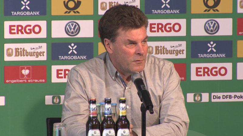 Pressekonferenz vor Gladbach-Schalke (Foto: SAT.1 NRW)