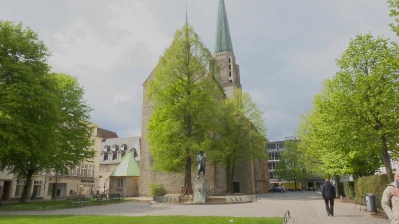 Lachende Kirche in Bielefeld (Foto: SAT.1 NRW)