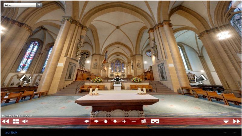 Virtual Reality Kirchen-App (Foto: SAT.1 NRW)