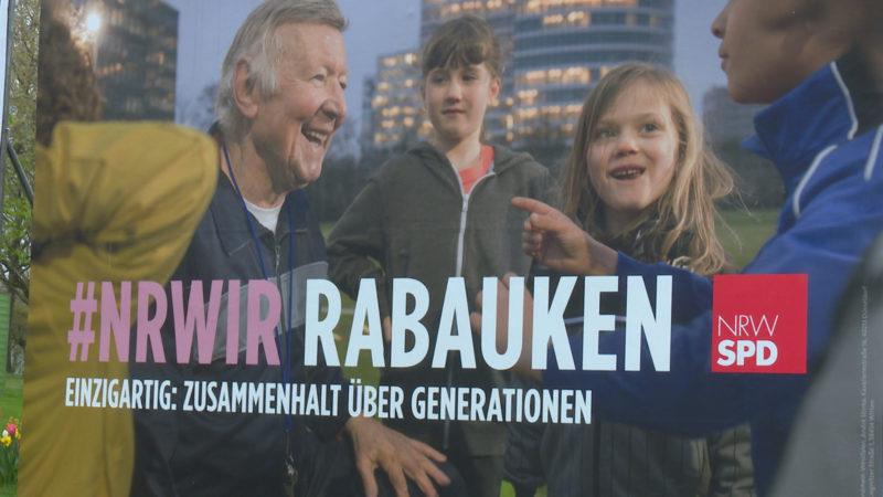 Botschaften der Wahlplakate (Foto: SAT.1 NRW)