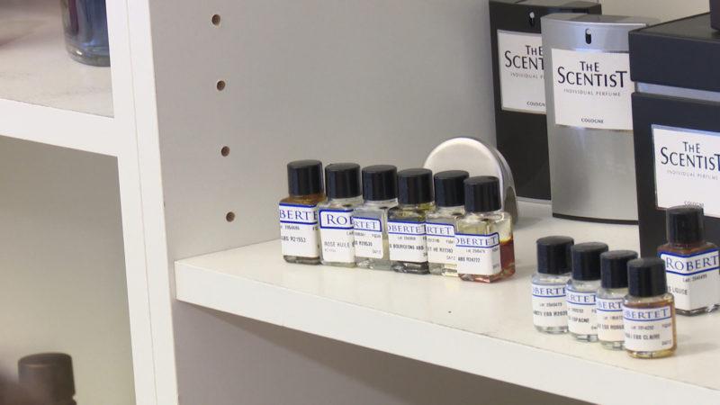 Das perfekte Parfum durch Persönlichkeitstest (Foto: SAT.1 NRW)