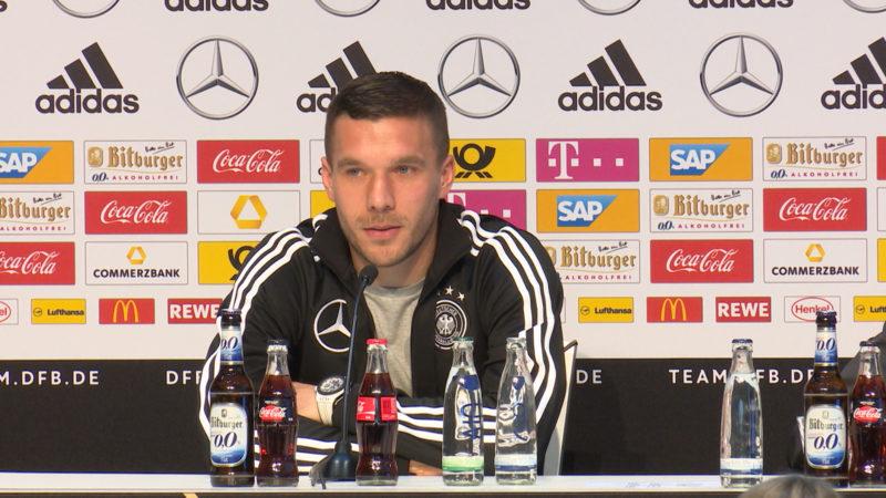 Podolski wird Botschafter der Eishockey-WM (Foto: SAT.1 NRW)