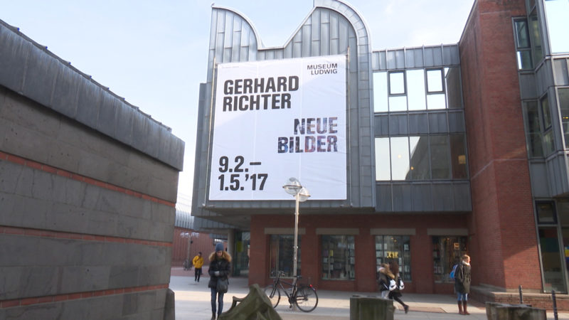 Gerhard Richter - Ausstellung (Foto: SAT.1 NRW)