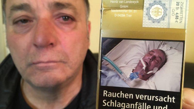 Schock-Foto auf Zigarettenpackung (Foto: SAT.1 NRW)