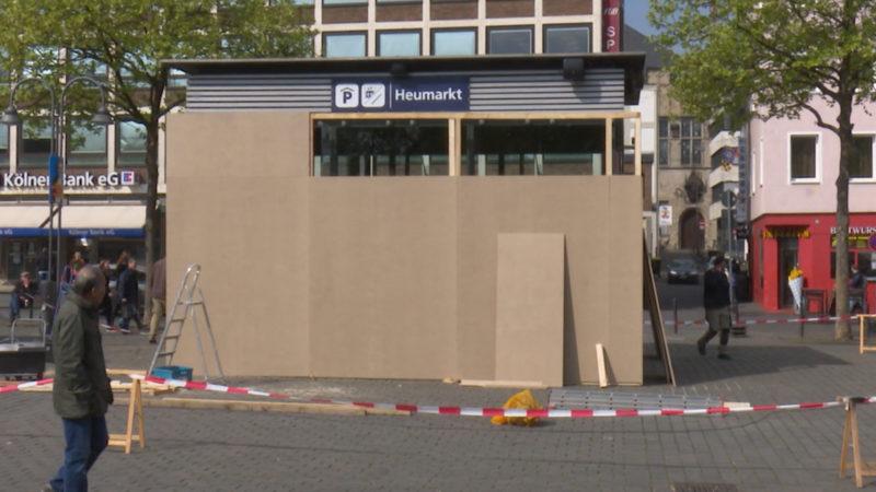 Köln vor dem AfD-Parteitag (Foto: SAT.1 NRW)