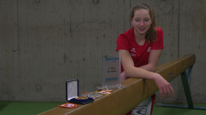 Super-Sportlerin (Foto: SAT.1 NRW)