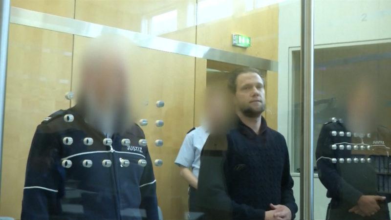 Pierre Vogel als Zeuge beim Sven Lau Prozess (Foto: SAT.1 NRW)