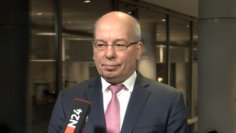 Innenminister Jäger zum Fall Wendt (Foto: SAT.1 NRW)