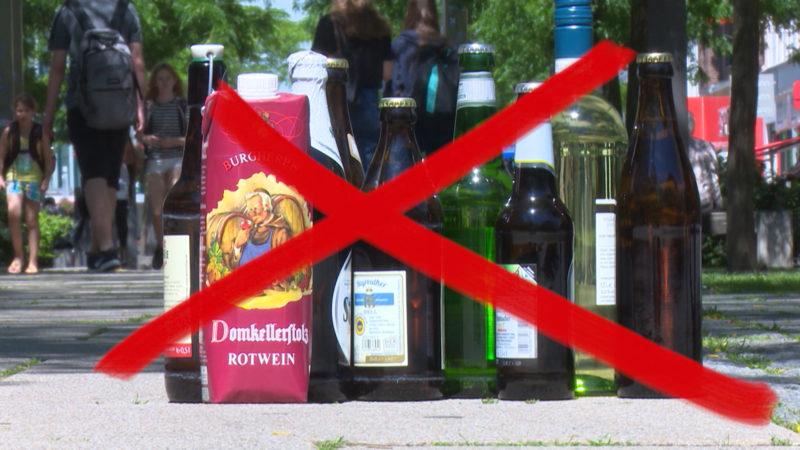 Klage gegen Alkoholverbot in Duisburg (Foto: SAT.1 NRW)