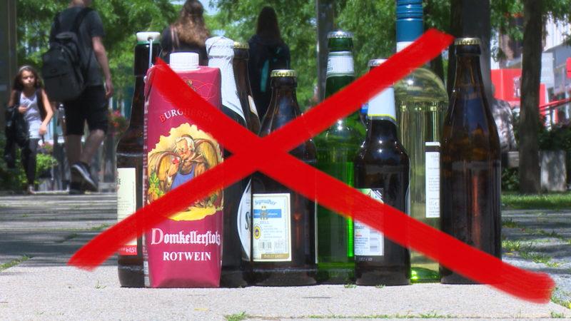Alkoholverbot in Duisburg (Foto: SAT.1 NRW)