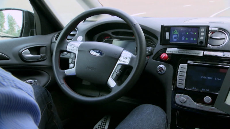 Studie zum autonomen Fahren (Foto: SAT.1 NRW)