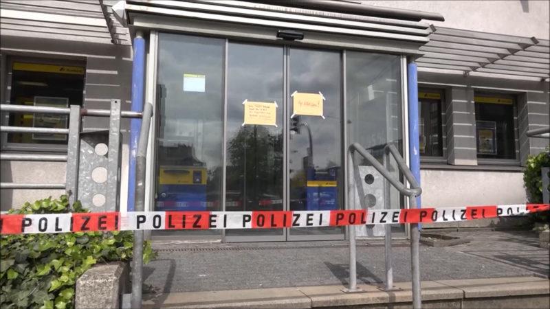 Bankräuber in Bielefeld auf der Flucht (Foto: SAT.1 NRW)