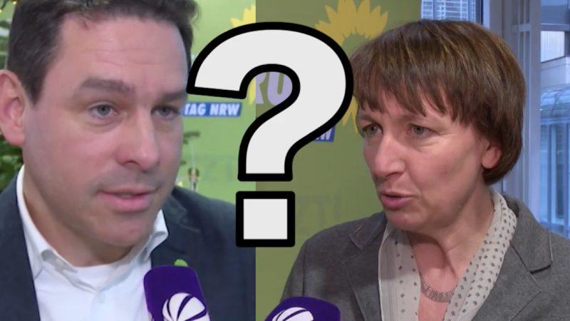 Fraktion der NRW-Grünen stimmt über neue Spitze ab (Foto: SAT.1 NRW)