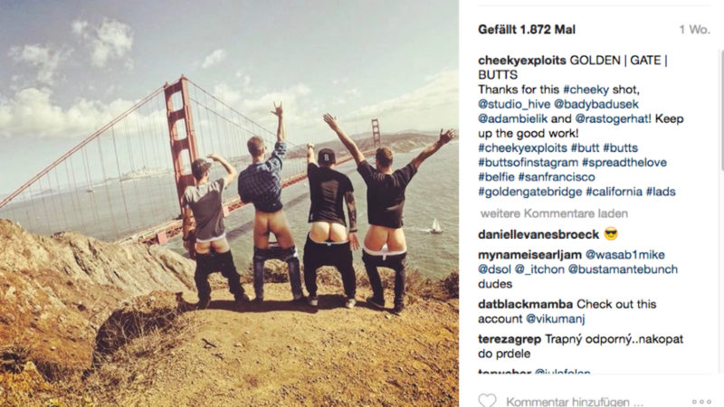 Neuer Trend: Butts of Instagram (Foto: SAT.1 NRW)