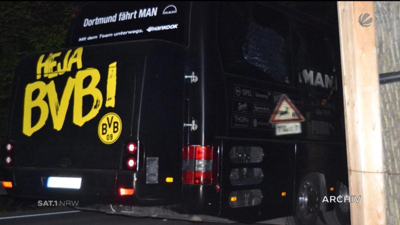 Neue Beweise nach Anschlag auf BVB-Bus (Foto: SAT.1 NRW)