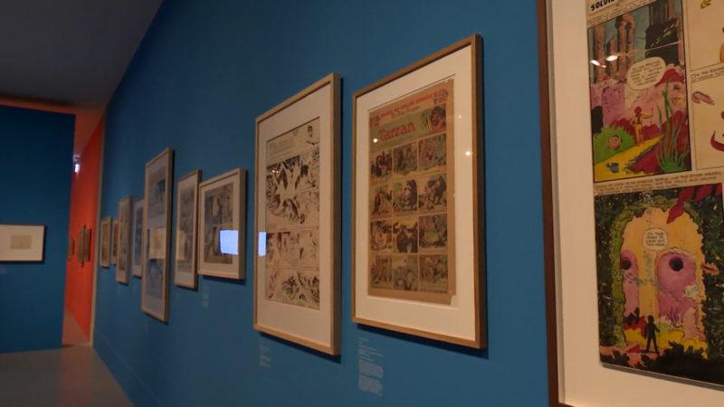 Comic-Ausstellung (Foto: SAT.1 NRW)