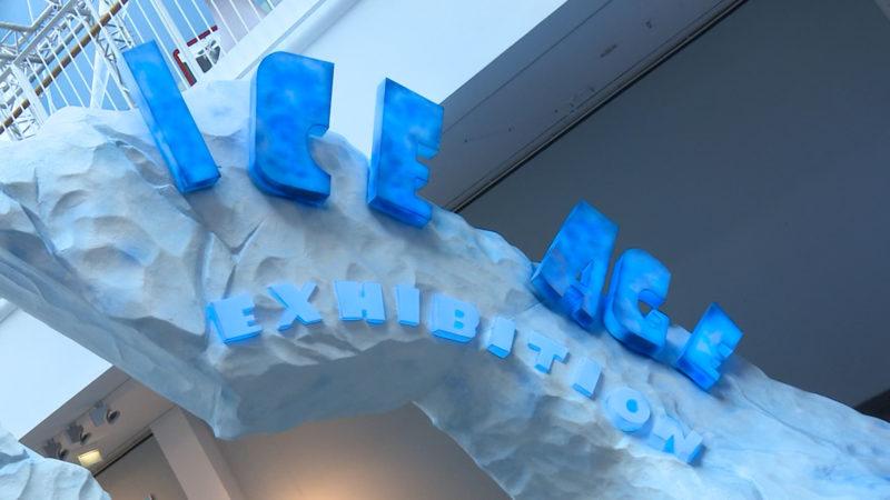 Ice-Age-Ausstellung (Foto: SAT.1 NRW)
