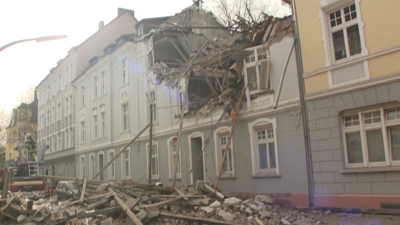 Nach Hausexplosion Bewohner in Untersuchungshaft (Foto: SAT.1 NRW)