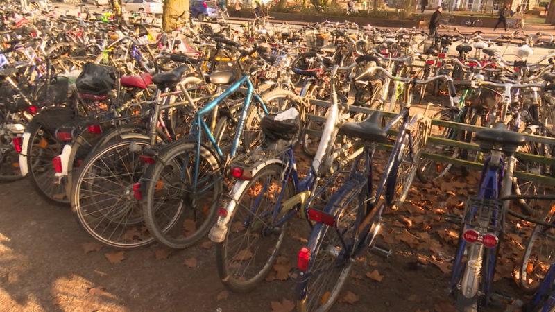 Fahrrad-Demonstration (Foto: SAT.1 NRW)