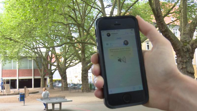 Böser Kettenbrief per WhatsApp auf Handys von Kindern (Foto: SAT.1 NRW)