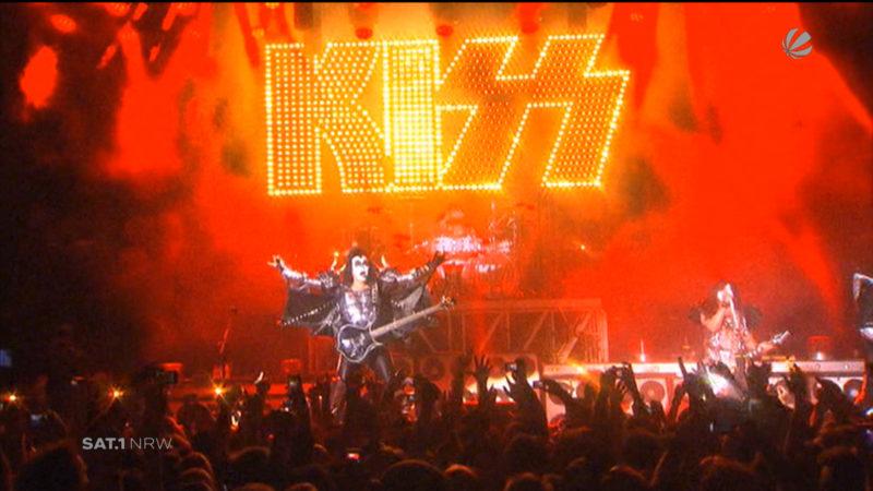 Interview mit KISS (Foto: SAT.1 NRW)
