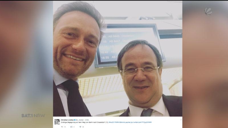 Koalition - aber mit wem? (Foto: SAT.1 NRW)