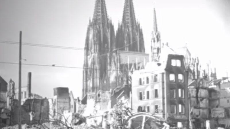 1000-Bomberangriff in Köln (Foto: SAT.1 NRW)