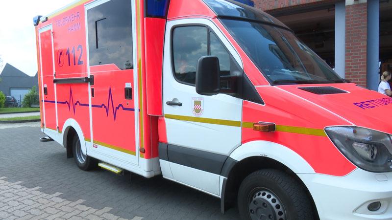 Passant verhindert Krankenwagen-Raub (Foto: SAT.1 NRW)
