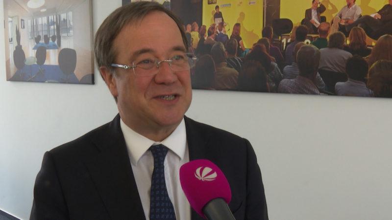 NRW-Wahlkampfstimmung nach Wahlergebnis in Schleswig-Holstein (Foto: SAT.1 NRW)