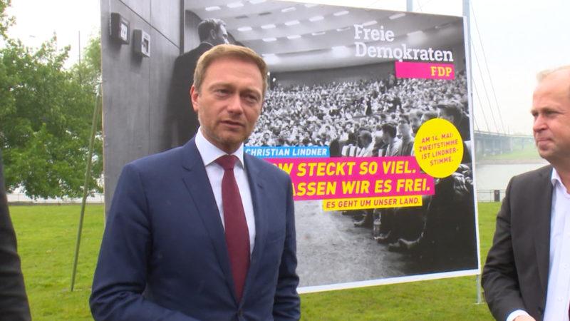 Heimlicher Star der FDP (Foto: SAT.1 NRW)