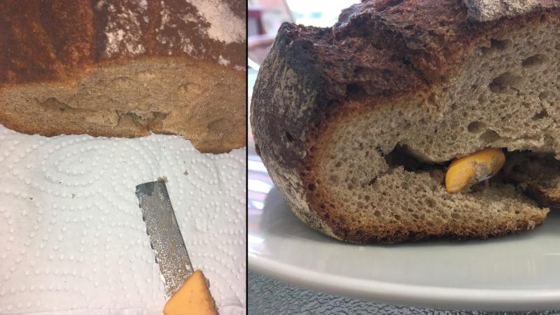 Messer im Brot (Foto: SAT.1 NRW)
