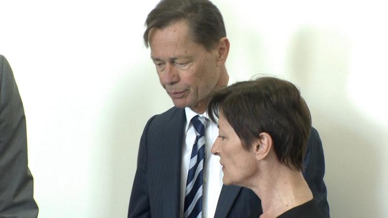 Thomas Middelhoff wieder vor Gericht (Foto: SAT.1 NRW)
