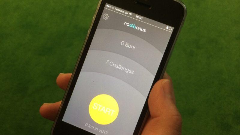 Radbonus-App (Foto: SAT.1 NRW)