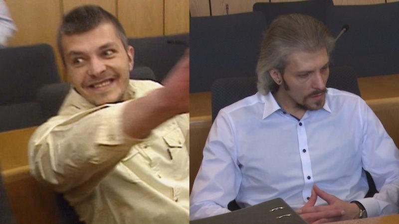 """""""Satanist von Witten"""" erneut vor Gericht (Foto: SAT.1 NRW)"""
