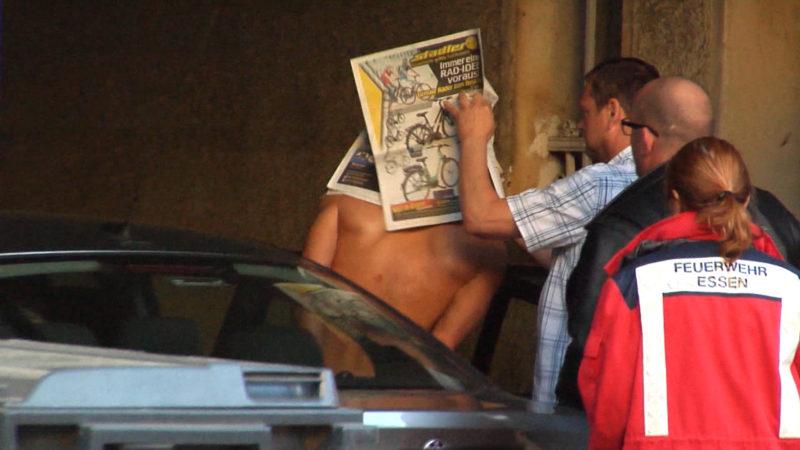 Mann vom SEK festgenommen (Foto: SAT.1 NRW)