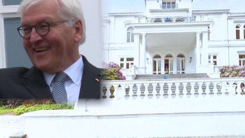 SO sieht's im Dienstsitz des Bundespräsidenten aus (Foto: SAT.1 NRW)
