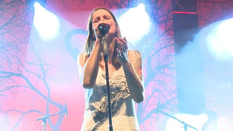 Christina Stürmer live on Tour (Foto: SAT.1 NRW)