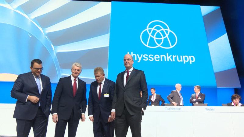 ThyssenKrupp will investieren (Foto: SAT.1 NRW)